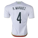 Mexico 2016 R. MARQUEZ Away Soccer Jersey