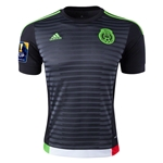 Mexico 2015 Home Soccer Jersey w/ CONCACAF Patch