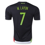 Mexico 2015 M. LAYUN Home Soccer Jersey