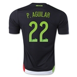 Mexico 2015 P. AGUILAR Home Soccer Jersey