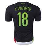 Mexico 2015 A. GUARDADO Authentic Home Soccer Jersey