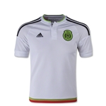 Mexico 2016 Youth Away Soccer Jersey