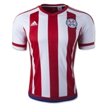 Paraguay 2015 Home Soccer Jersey
