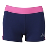 adidas Women's TechFit 3 Boy Shorts (Nv/Pi)
