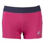 adidas Women's TechFit 3 Boy Shorts (Pink)