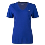 adidas Women's Ultimate V-Neck T-Shirt (Royal)