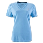 adidas Women's Ultimate V-Neck T-Shirt (Sky)