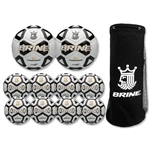Brine Phantom Soccer Ball Bundle Pack (Black)
