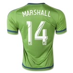 Seattle Sounders 2015 MARSHALL Home Soccer Jersey