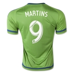 Seattle Sounders 2015 MARTINS Home Soccer Jersey