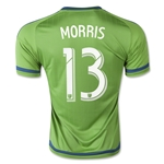 Seattle Sounders 2015 MORRIS Home Soccer Jersey