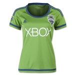 Seattle Sounders 2015 Women's Home Soccer Jersey