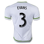 Seattle Sounders 2015 EVANS Away Soccer Jersey