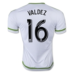 Seattle Sounders 2015 VALDEZ Away Soccer Jersey