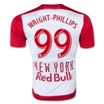 New York Red Bulls 2015 WRIGHT PHILLIPS Authentic Home Soccer Jersey