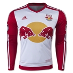 New York Red Bulls 2015 LS Authentic Home Soccer Jersey