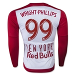 New York Red Bulls 2015 WRIGHT-PHILLIPS LS Authentic Home Soccer Jersey