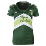 Portland Timbers 2015 Women's Home Soccer Jersey