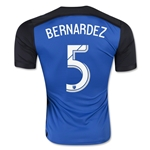 San Jose Earthquakes 2016 BERNARDEZ Home Soccer Jersey
