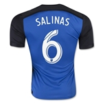 San Jose Earthquakes 2015 SALINAS Home Soccer Jersey