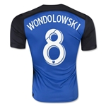 San Jose Earthquakes 2016 WONDOLOWSKI Home Soccer Jersey