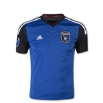San Jose Earthquakes 2015 Youth Home Soccer Jersey