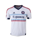 Chicago Fire 2015 Youth Away Soccer Jersey