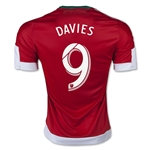 New England Revolution 2015 DAVIES Away Soccer Jersey