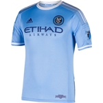 New York City FC 2015 Authentic Home Soccer Jersey