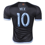 New York City FC 2015 MIX Authentic Away Soccer Jersey