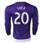 Orlando City 2015 SHEA LS Authentic Home Soccer Jersey