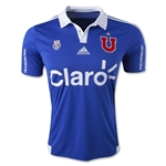 Universidad De Chile 2015 Home Soccer Jersey
