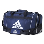 adidas Defender II Medium Duffle Bag (Navy/White)