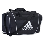 adidas Defender II Small Duffle Bag (Blk/Wht)