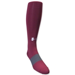 Under Armour Soccer Over the Calf Sock (Cardinal)