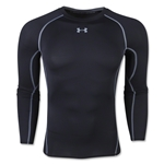 Under Armour Heatgear Compression Long Sleeve T-Shirt (Black)
