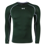 Under Armour Heatgear Compression Long Sleeve T-Shirt (Dark Green)