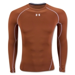 Under Armour Heatgear Compression LS T-Shirt (Dk Orange)