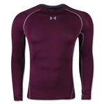 Under Armour Heatgear Compression Long Sleeve T-Shirt (Maroon)