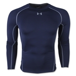 Under Armour Heatgear Compression Long Sleeve T-Shirt (Navy)