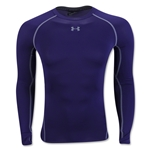 Under Armour Heatgear Compression LS T-Shirt (Purple)