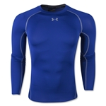 Under Armour Heatgear Compression Long Sleeve T-Shirt (Royal)