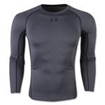 Under Armour Heatgear Compression Long Sleeve T-Shirt (Gray)