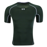 Under Armour Heatgear Compression T-Shirt (Dark Green)