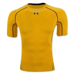 Under Armour Heatgear Compression T-Shirt (Gold)