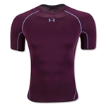 Under Armour Heatgear Compression T-Shirt (Maroon)