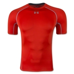 Under Armour Heatgear Compression T-Shirt (Orange)