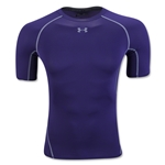 Under Armour Heatgear Compression T-Shirt (Purple)