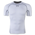 Under Armour Heatgear Compression T-Shirt (White)