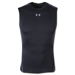 Under Armour Heatgear Compression Sleeveless T-Shirt (Black)
